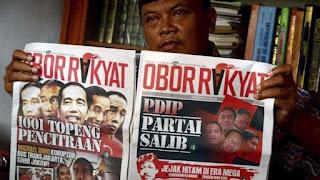 Pemimpin Redaksi Tabloid Obor Rakyat Setiyardi Budiono menyatakan pihaknya akan kembali menerbitkan Obor Rakyat menjelang Pilpres 2019.