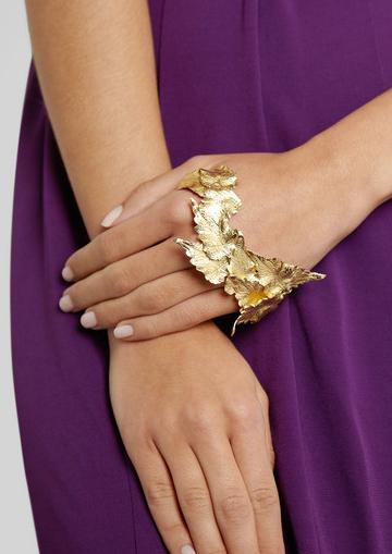Leaf Hand cuff Ana Khouri FW 2011-2012