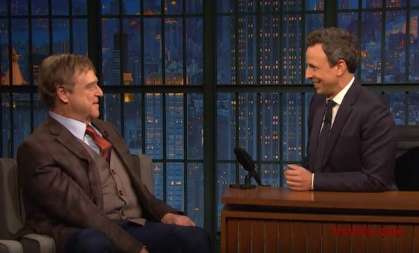 Seth Meyers vs. John Goodman Misses Working With Roseanne