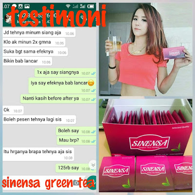 Testimoni Sinensa Green Tea Original