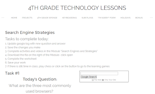 4th grade technology lesson plans and activities for the entire school year that will make a great supplement to your technology curriculum. These lesson plans and activities will save you so much time coming up with what to do during your computer lab time. Ideal for a technology teacher or a 4th grade teacher with mandatory lab time. All of the work is done for you!
