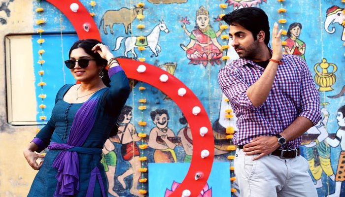 Shubh Mangal Savdhan Box Office Look of Ayushmann & Bhumi
