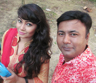 Alvi Bangladeshi Actress and her Co star