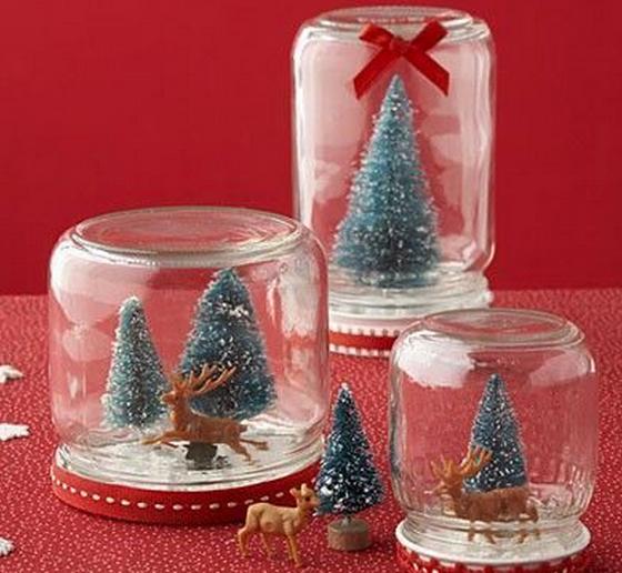 decoracao arvore de natal reciclavel : decoracao arvore de natal reciclavel:Artesanato Fofo: Enfeite de Natal feito com vidros reciclados e
