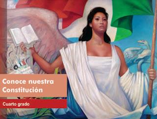 Libro de TextoConoce nuestra Constitución 4to Cuarto grado 2015-2016