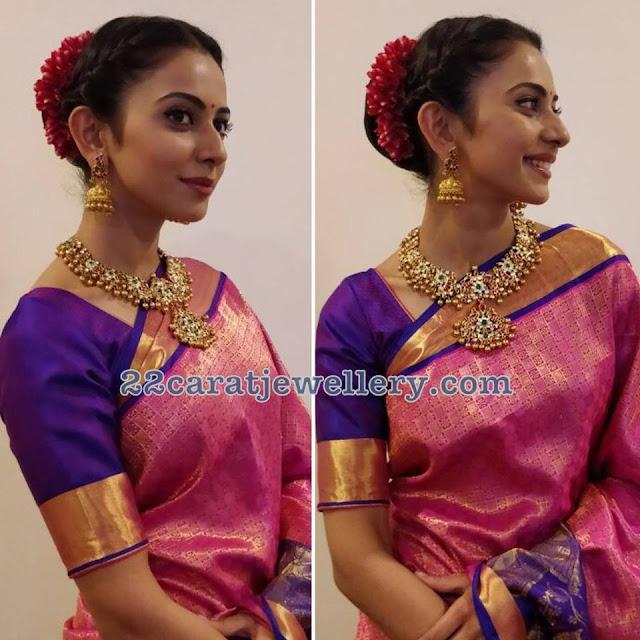 Rakul Preet Singh in Manjula Jewels