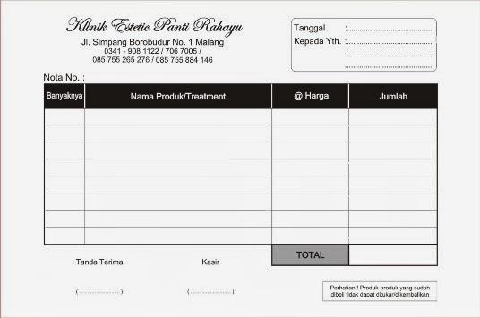 Contoh Invoice Harga - Christmas Pix