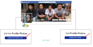 download foto profil dan foto sampul facebook