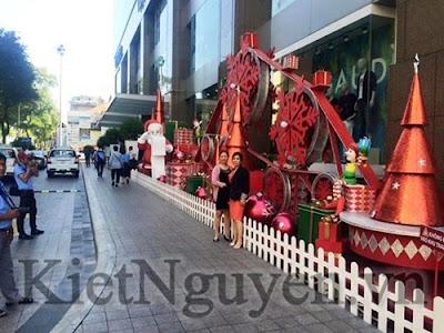 Giáng sinh tại Trung tâm thương mại VinCom Center mùa Giáng Sinh