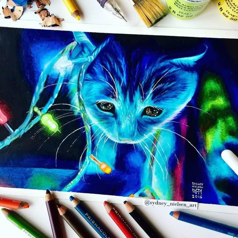 03-Blue-Kitten-Sydney-Nielsen-Pencil-Drawings-www-designstack-co