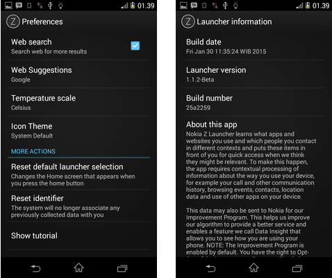 DOWNLOAD Z LAUNCHER V1.1.2-Beta APK