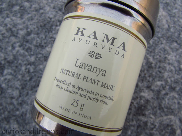 Kama Ayurveda Lavanya Natural Plant Mask review