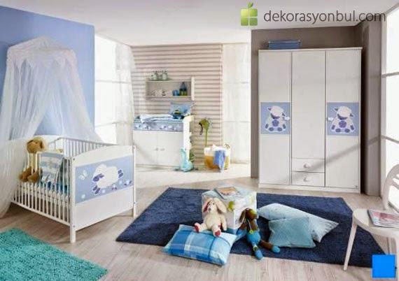 Les chambres complètes pour bébé garçon