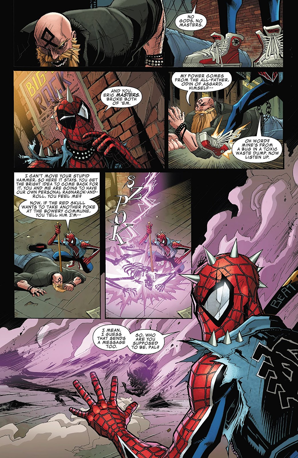 Weird Science DC Comics: Edge of Spider-Geddon #1 Review