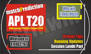APL 2018 Today Match Prediction Kabul vs Balkh 14th APL T20