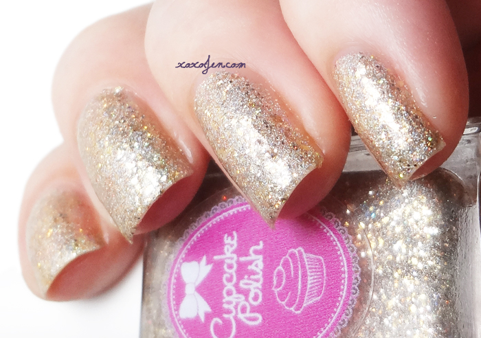 xoxoJen's swatch of Cupcake Polish Ornamentary My Dear