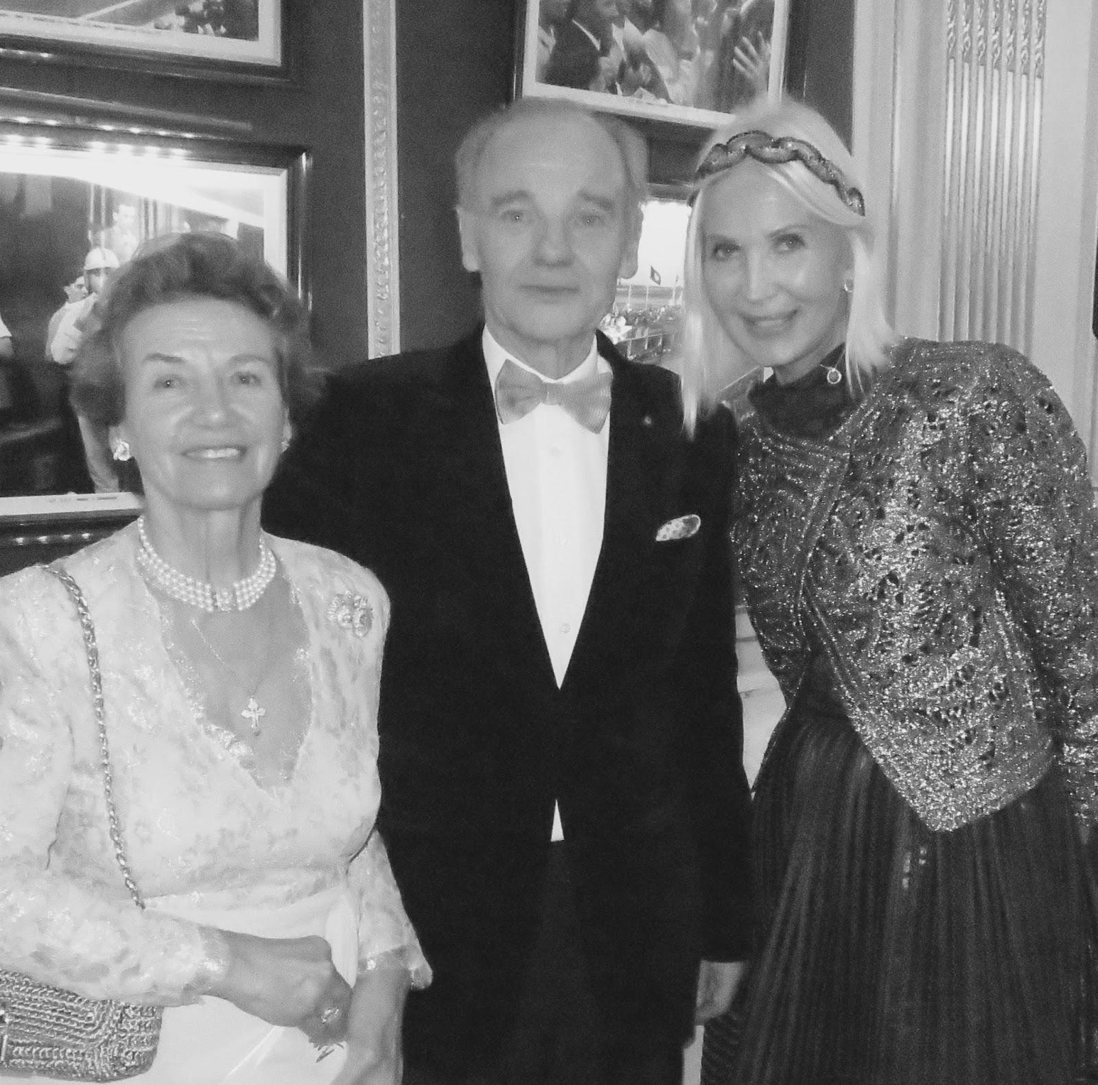 HERITAGE INDUSTRIEL ET PEINTURE ...Soirée de Gala à l' AUTOMOBILE CLUB DE  FRANCE ...Le Prince MOUROUSY Président de l' Association Européenne de  Saint ...
