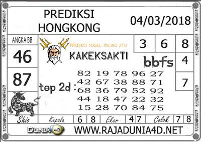 Prediksi Togel HONGKONG DUNIA4D 04 MARET 2019