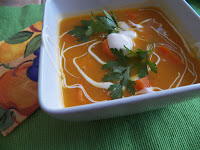 Carrot and Sweet Potato Chowder