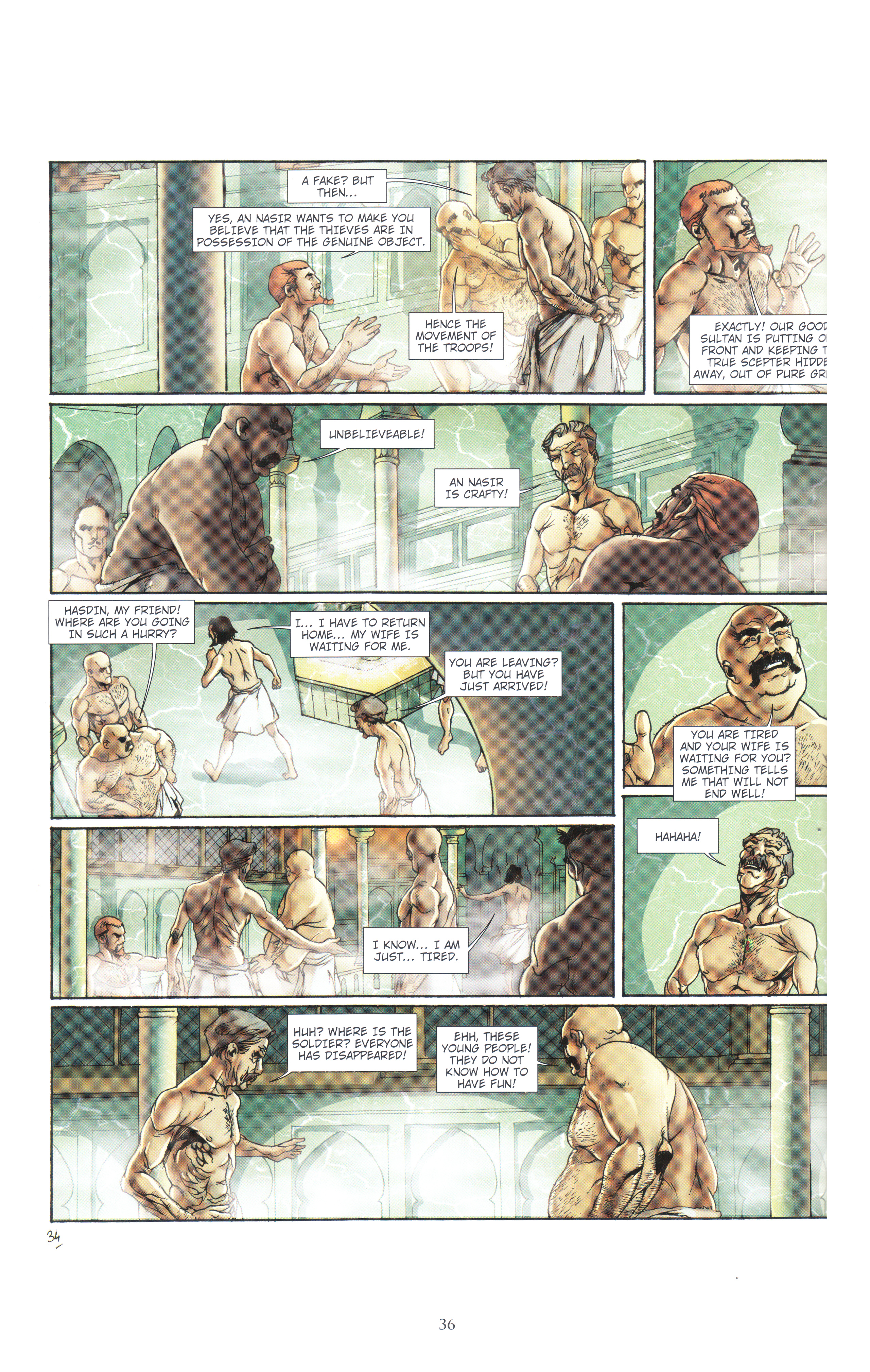 Read online Assassin's Creed (2012) comic -  Issue #4 - 36