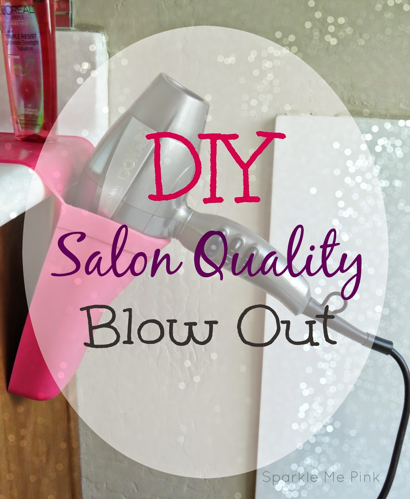 Diy Salon Sparkle Me Pink Diy Salon Blow Out 43 Easy Everyday Hair