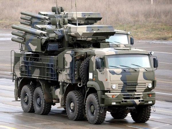 Зенитный ракетно-пушечный комплекс ЗРПК «Панцирь-С1» (96К6)