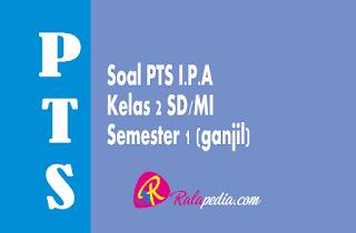 Soal Ulangan PTS IPA Kelas 2 SD/MI Semester 1 Lengkap Kunci Jawaban