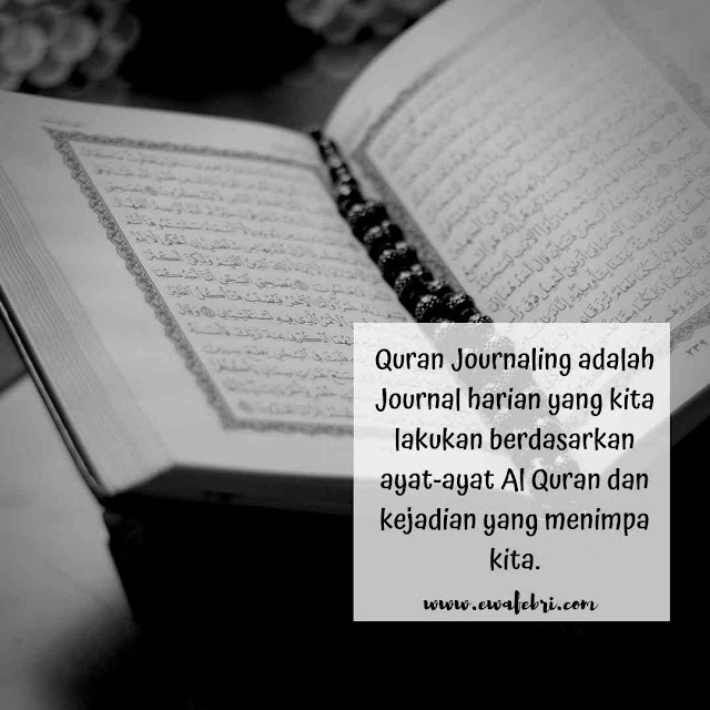 Quran Journaling by ewafebri