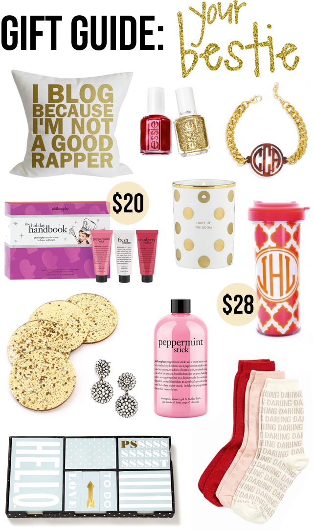 Gift Guide Your Best Friend Under 50