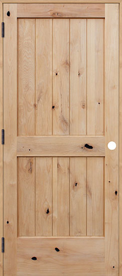 image result for alder wood 2 panel door rustic collection Pacific Entries