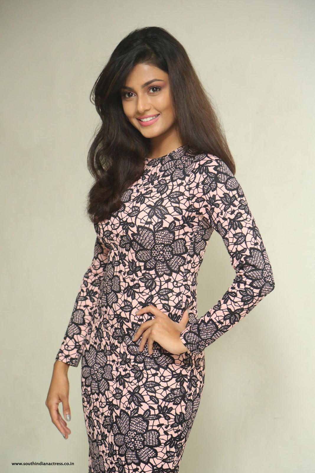 Anisha Ambrose At Ladies Tailor Movie Press Meet