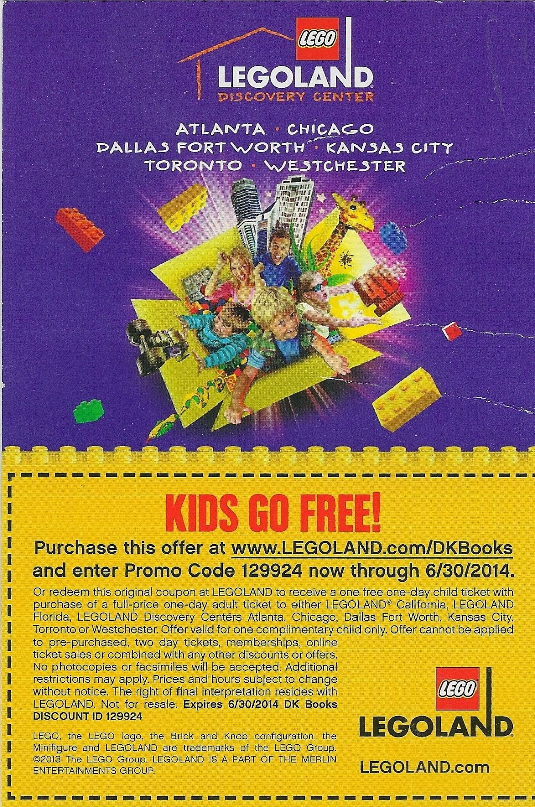 photo relating to Legoland Printable Coupons identified as Legoland atlanta printable discount coupons : Blue nile discount coupons 20