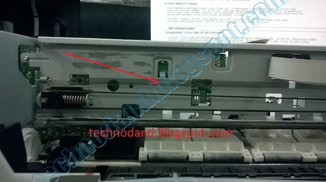 Blinking general ERROR atau FATAL ERROR pada Printer EPSON L100 Dan T13