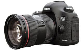 Harga dan Spesifikasi Kamera DSLR Canon 5D Mark III Lengkap