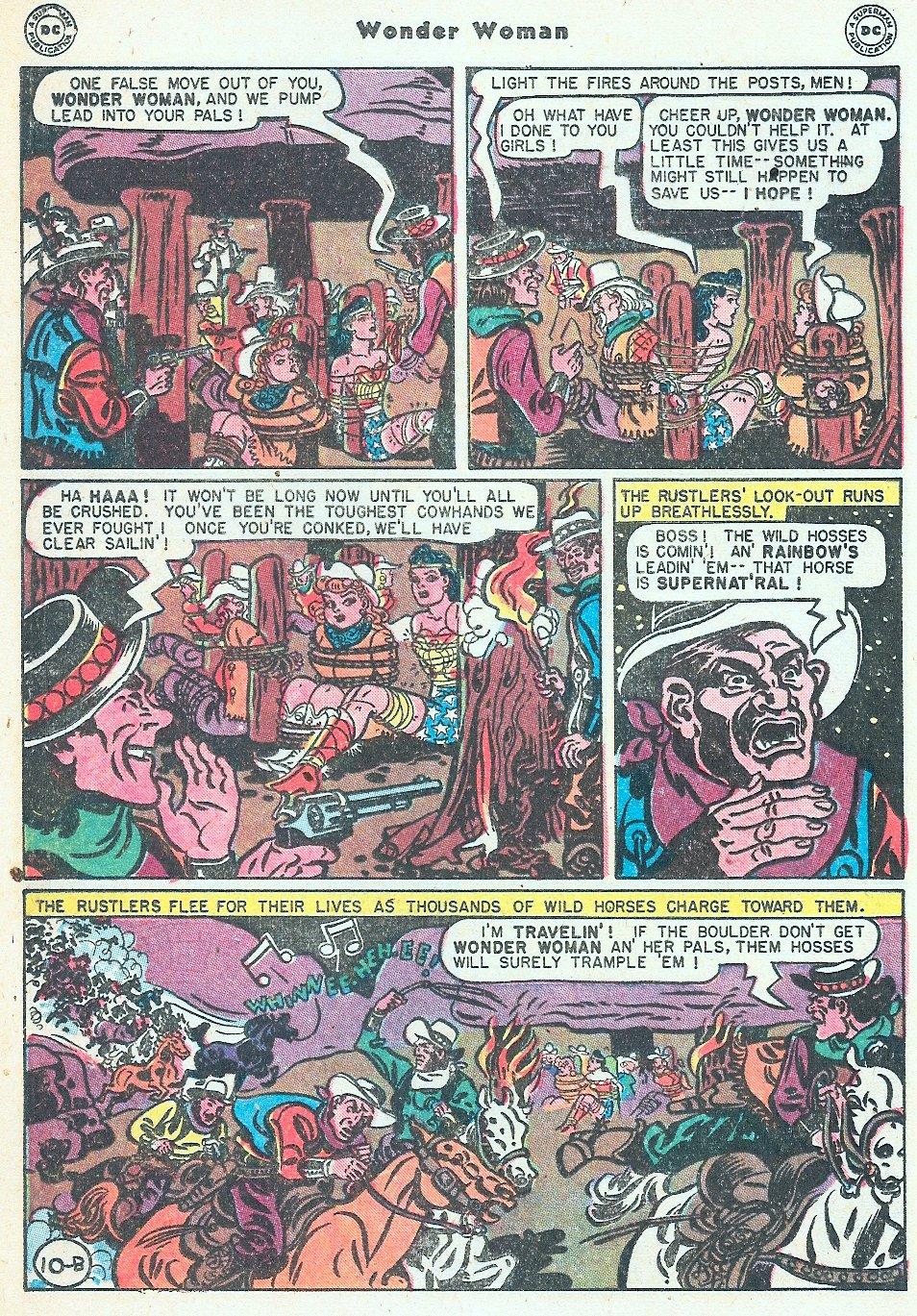 Read online Wonder Woman (1942) comic -  Issue #27 - 30