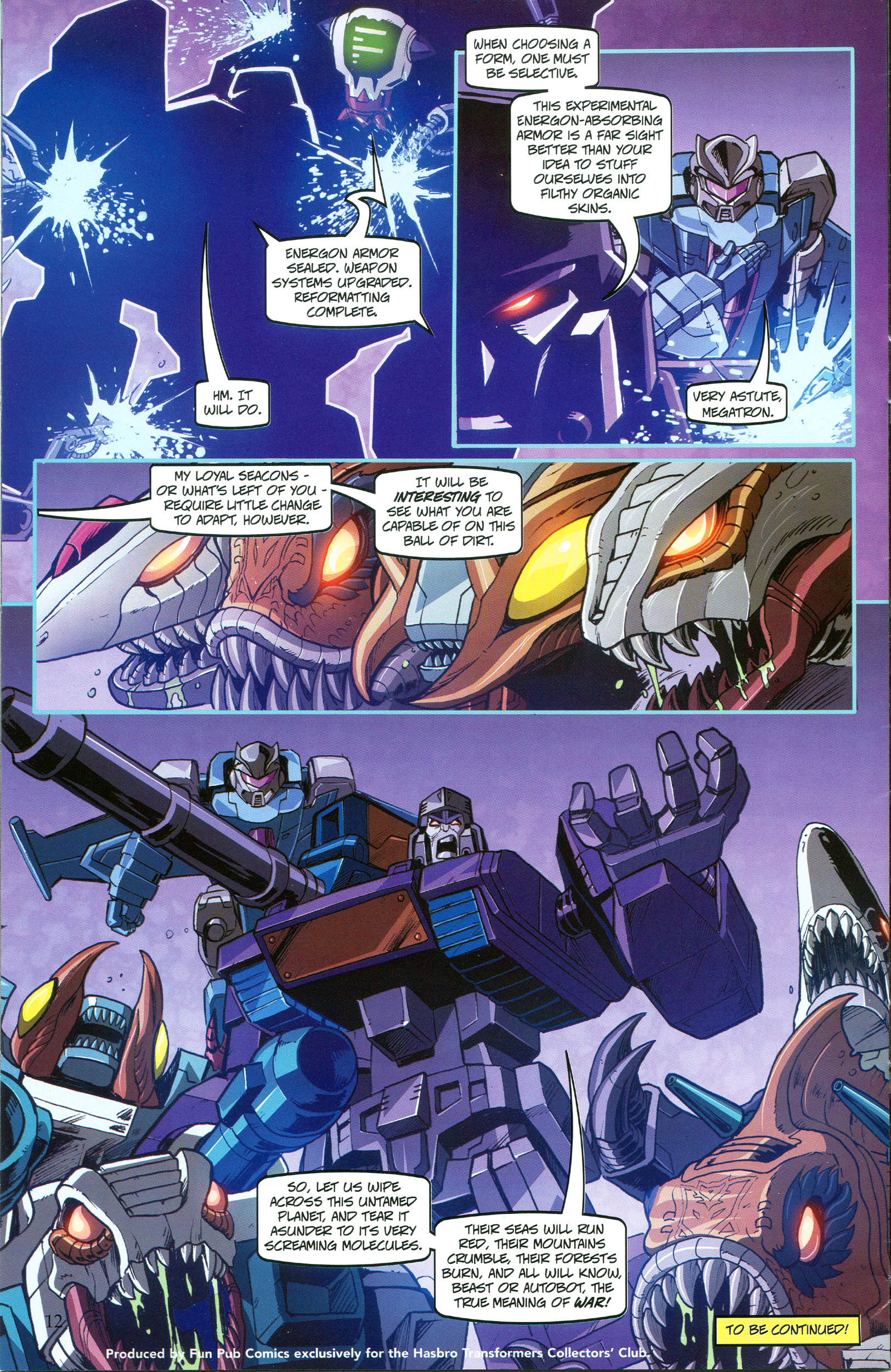 Read online Transformers: Collectors' Club comic -  Issue #49 - 12