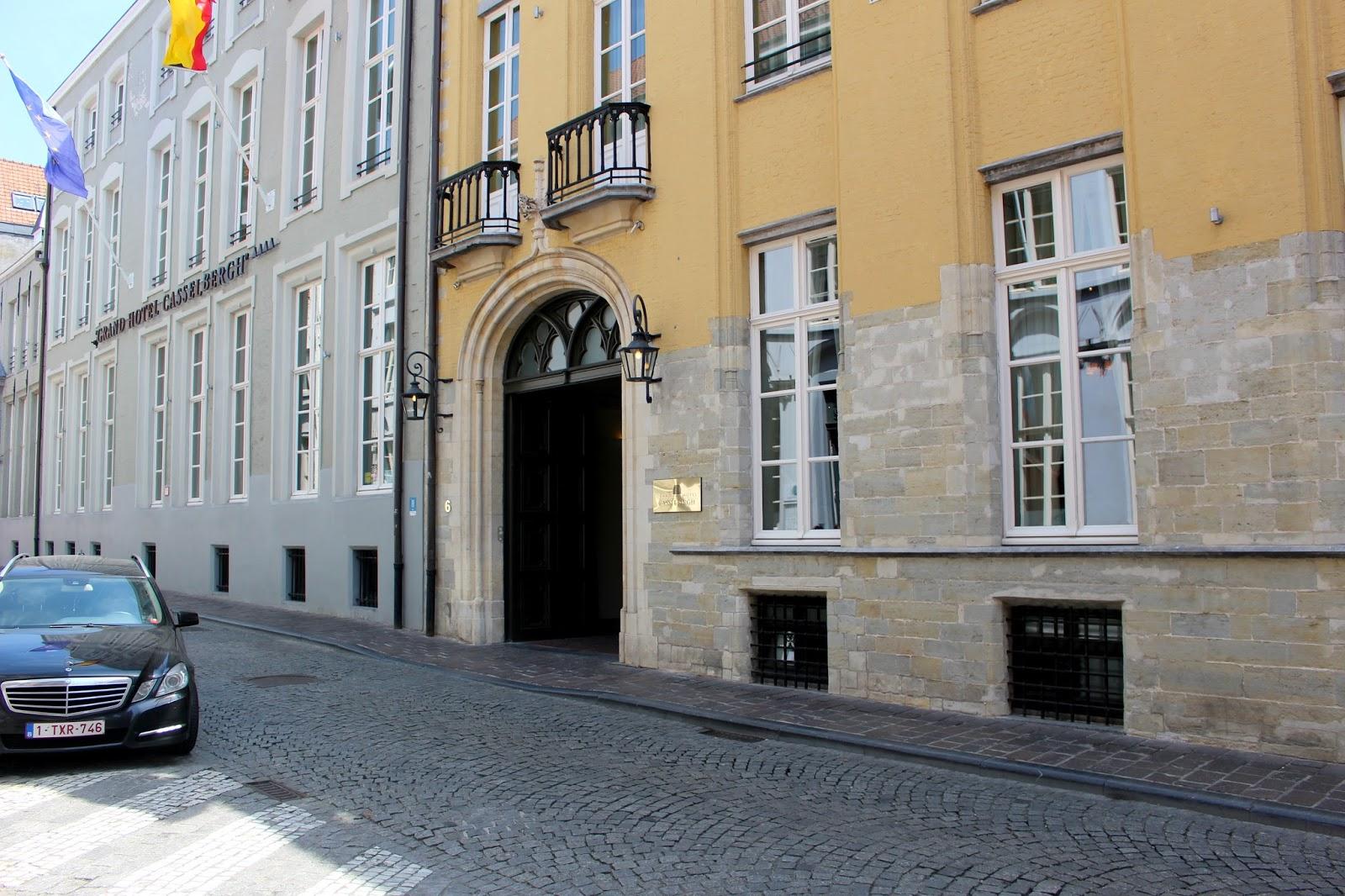 Grand Hotel Casselbergh Bruges Belgium