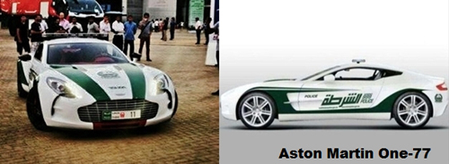 Think Car Dubai Police Continued Dominant Play With Aston Martin One 77