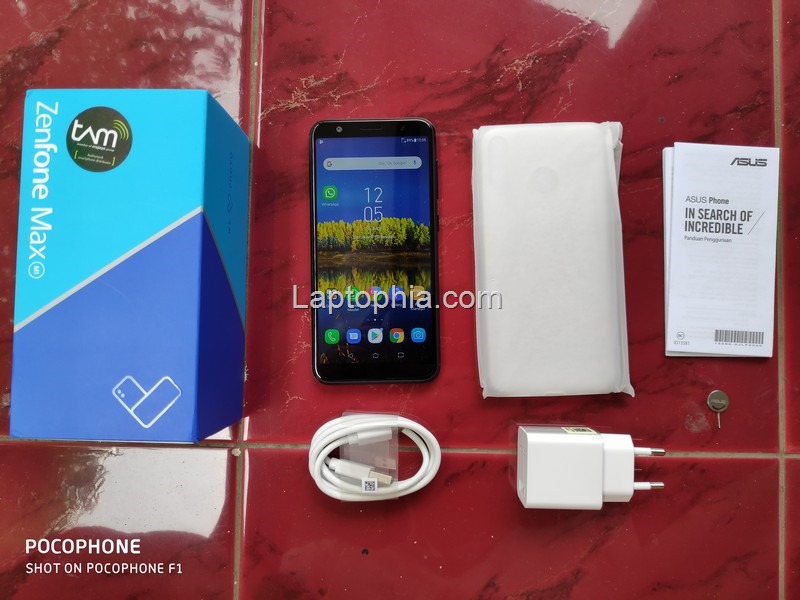 Paket Pembelian Asus Zenfone Max M1 ZB555KL