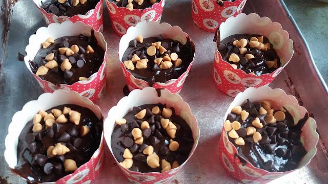 Resepi Muffin Coklat Cappuccino@ Muffin Cappuccino Chocolate recipe