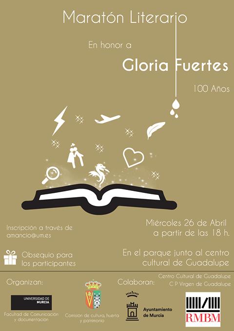 Maratón Literario en honor a Gloria Fuertes.