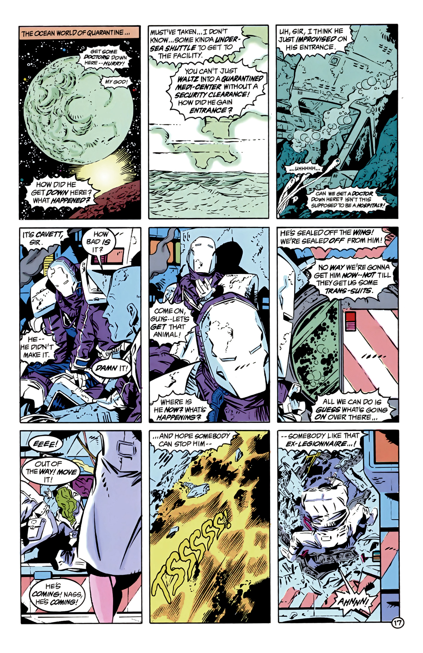 Legion of Super-Heroes (1989) 12 Page 17