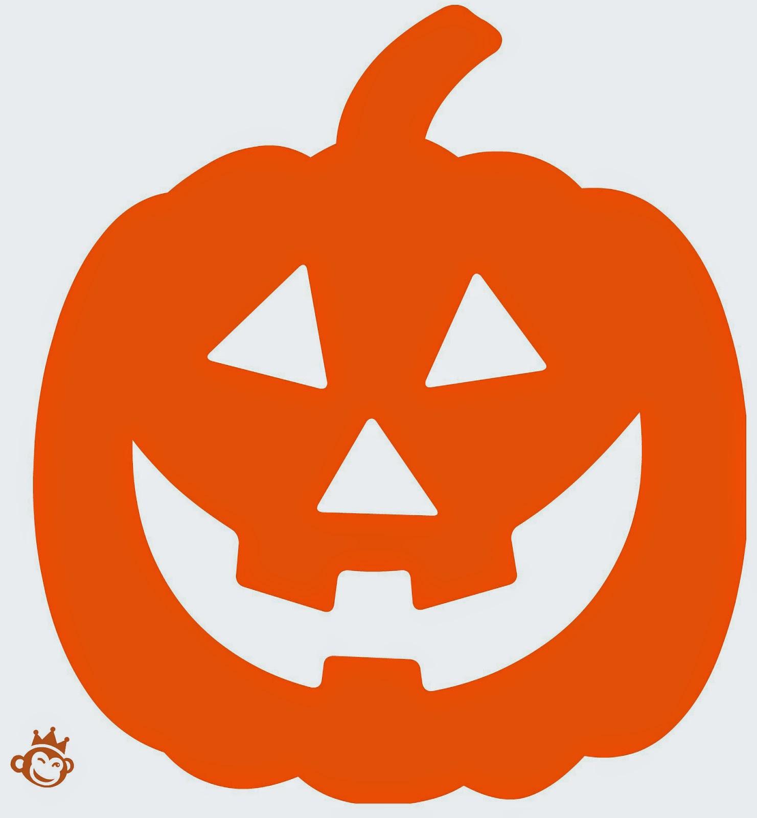 Recetas originales figuras recortables para decorar en - Plantillas para decorar calabazas halloween ...
