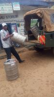 This Kiambu County vehicle was spotted delivering KEG to a bar yet WAITITU is pretending he is fighting alcoholism (PHOTO).
