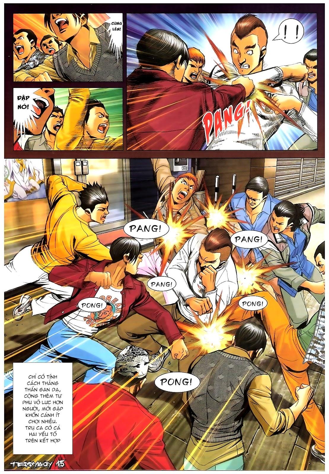 Người Trong Giang Hồ - Chapter 1378: Oan gia gặp nhau - Pic 14