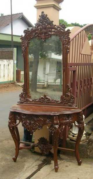 Produk Furniture Ukiran Jepara Allia Furniture