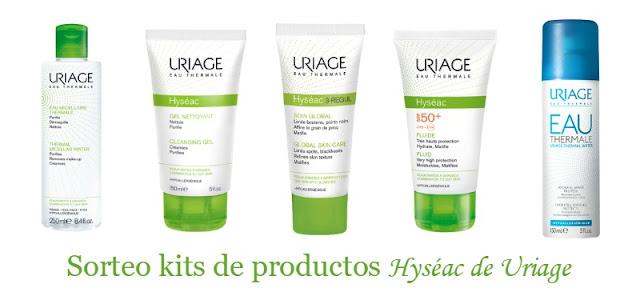 Sorteo kits de productos Hyséac de Uriage (Cerrado)