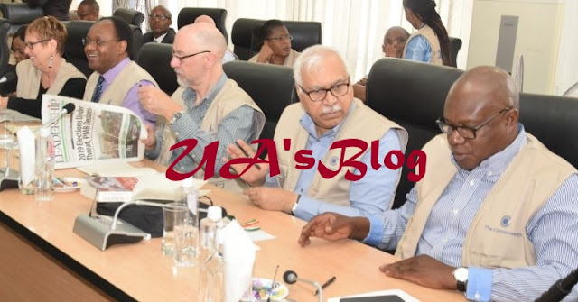 BREAKING: Common Wealth Election Observers land in Nigeria (PHOTOS)