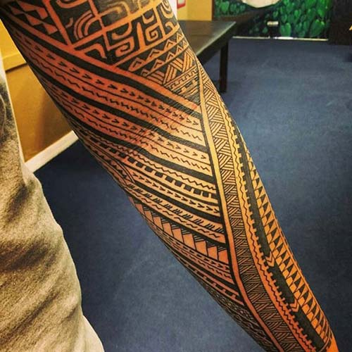 maori tribal dövmeler tattoos 42
