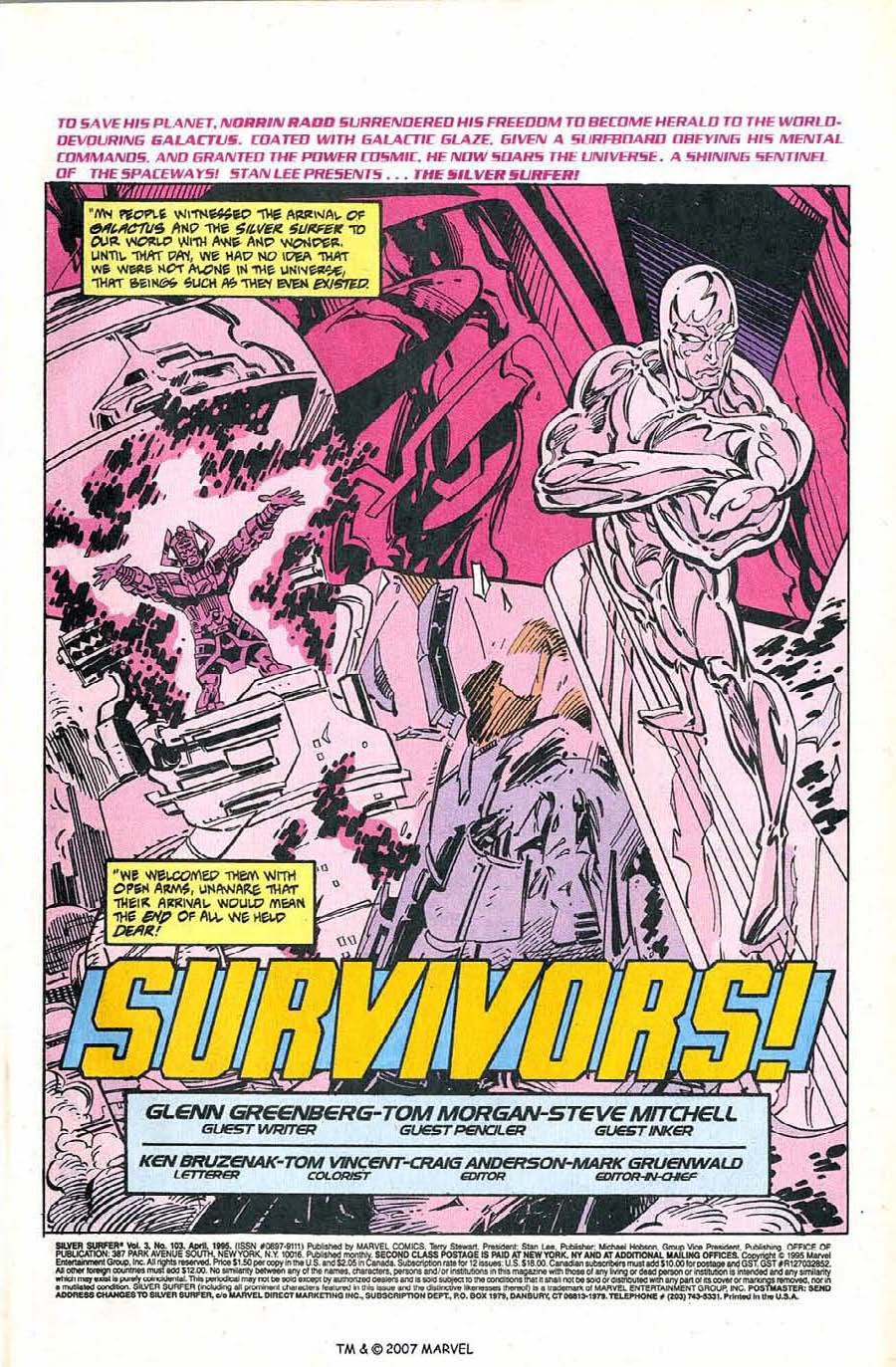 Silver Surfer (1987) Issue #103 #111 - English 3